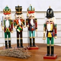 New Designs Promotional Items wooden 6ft life size nutcracker