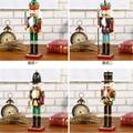 25cm 30cm 38cm wooden nutcracker soldier Figures 2