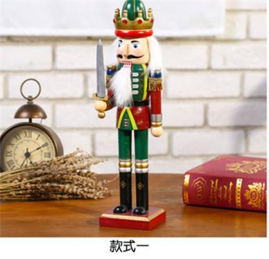 25cm 30cm 38cm wooden nutcracker soldier Figures 4