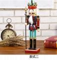 25cm 30cm 38cm wooden nutcracker soldier Figures 5