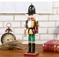 25cm 30cm 38cm wooden nutcracker soldier Figures