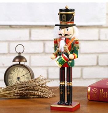 25cm 30cm 38cm wooden nutcracker soldier Figures 7