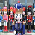 W1076 The wooden 6ft life size nutcracker soldier 5