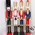 W1076 The wooden 6ft life size nutcracker soldier 8
