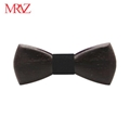 MBT220 business gifts fashion 3D customized checkenwood wooden bow tie for man 3