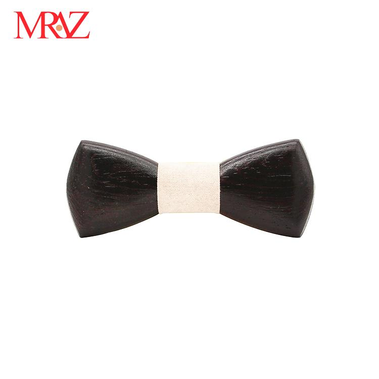 MBT220 business gifts fashion 3D customized checkenwood wooden bow tie for man 6