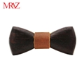 MBT220 business gifts fashion 3D customized checkenwood wooden bow tie for man 7