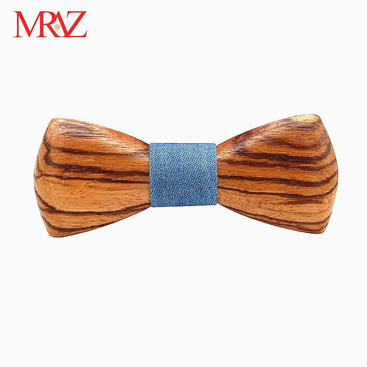 MBT230 fashion 3Dhandmade Sapele wood wooden bow tie for man 6
