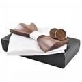 Fashion black cheap handmade Bow tie package box gift box  1