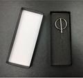 Fashion black cheap handmade cufflink tie package box gift box