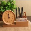 New Designs BEECHWOOD Wooden Clock