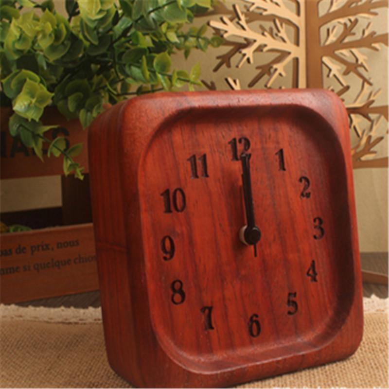 New Designs BEECHWOOD Wooden Clock 4