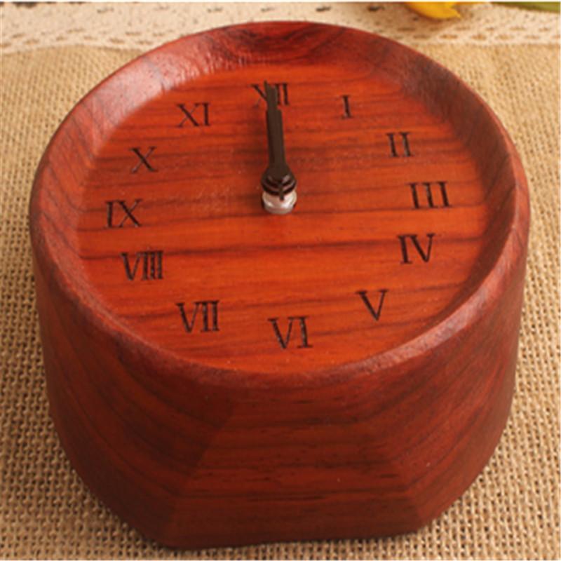 New Designs BEECHWOOD Wooden Clock 8