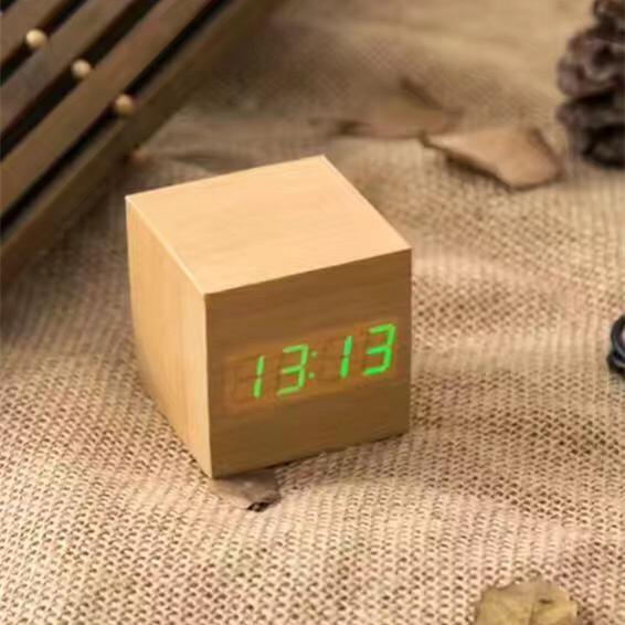 New Designs digital Wooden Clock