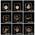 New Designs digital wooden photo frame lamp 4