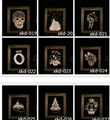 New Designs digital wooden photo frame lamp