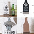 Promotional item wooden beer bottle opener