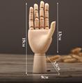 SPECIAL handmade wooden manikin hands  7