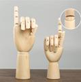 SPECIAL handmade wooden manikin hands  8