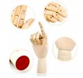 SPECIAL handmade wooden manikin hands  9