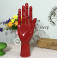 SPECIAL handmade colorful wooden manikin hands  1