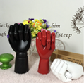 SPECIAL handmade colorful wooden manikin hands