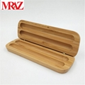Wooden business gift pen box with pen  8