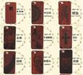 Popular laser design wooden mobile phone case holder