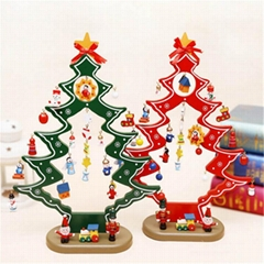 plywood laser cutting Christmas tree decoration