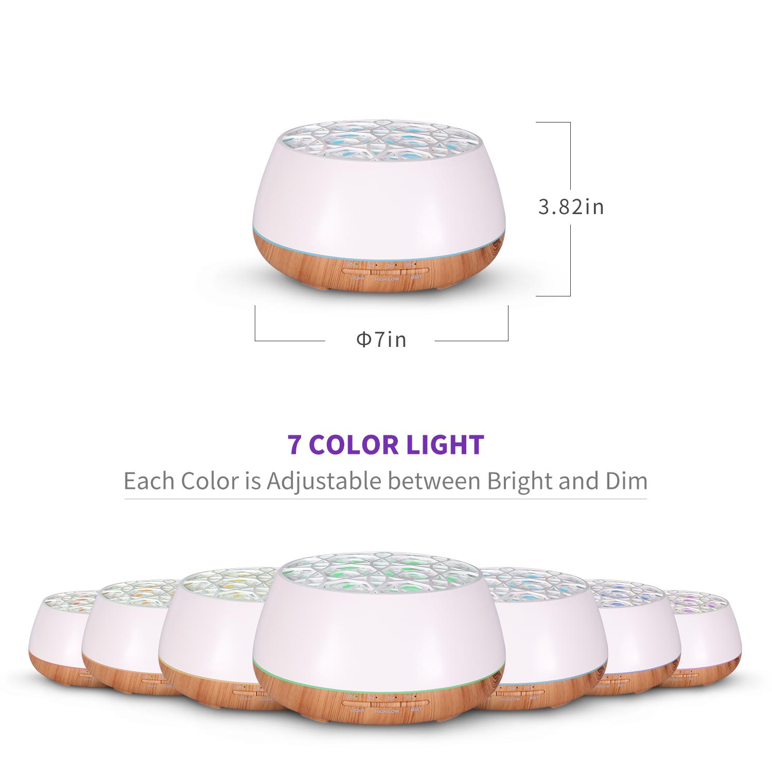 Popular aromatherapy air ultrasonic essential oil aroma diffuser 2