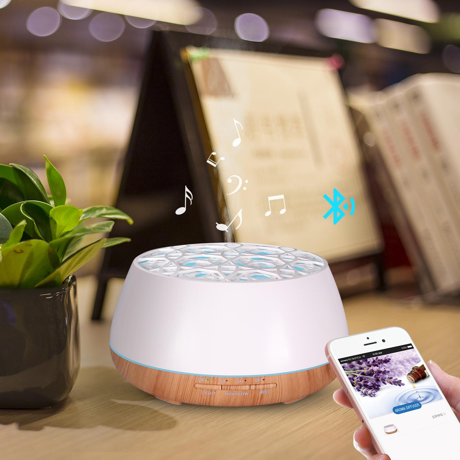 Popular aromatherapy air ultrasonic essential oil aroma diffuser 4