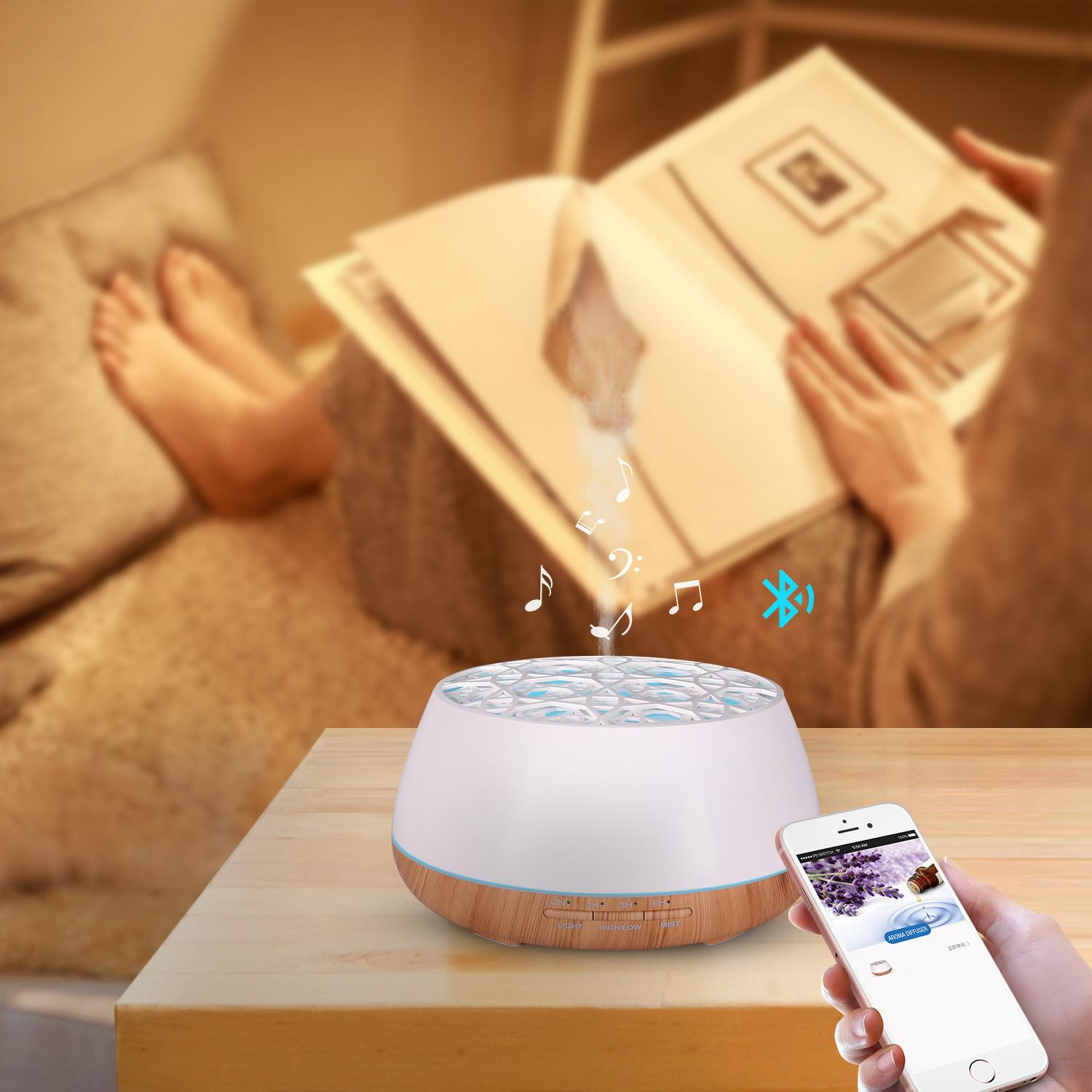 Popular aromatherapy air ultrasonic essential oil aroma diffuser 5