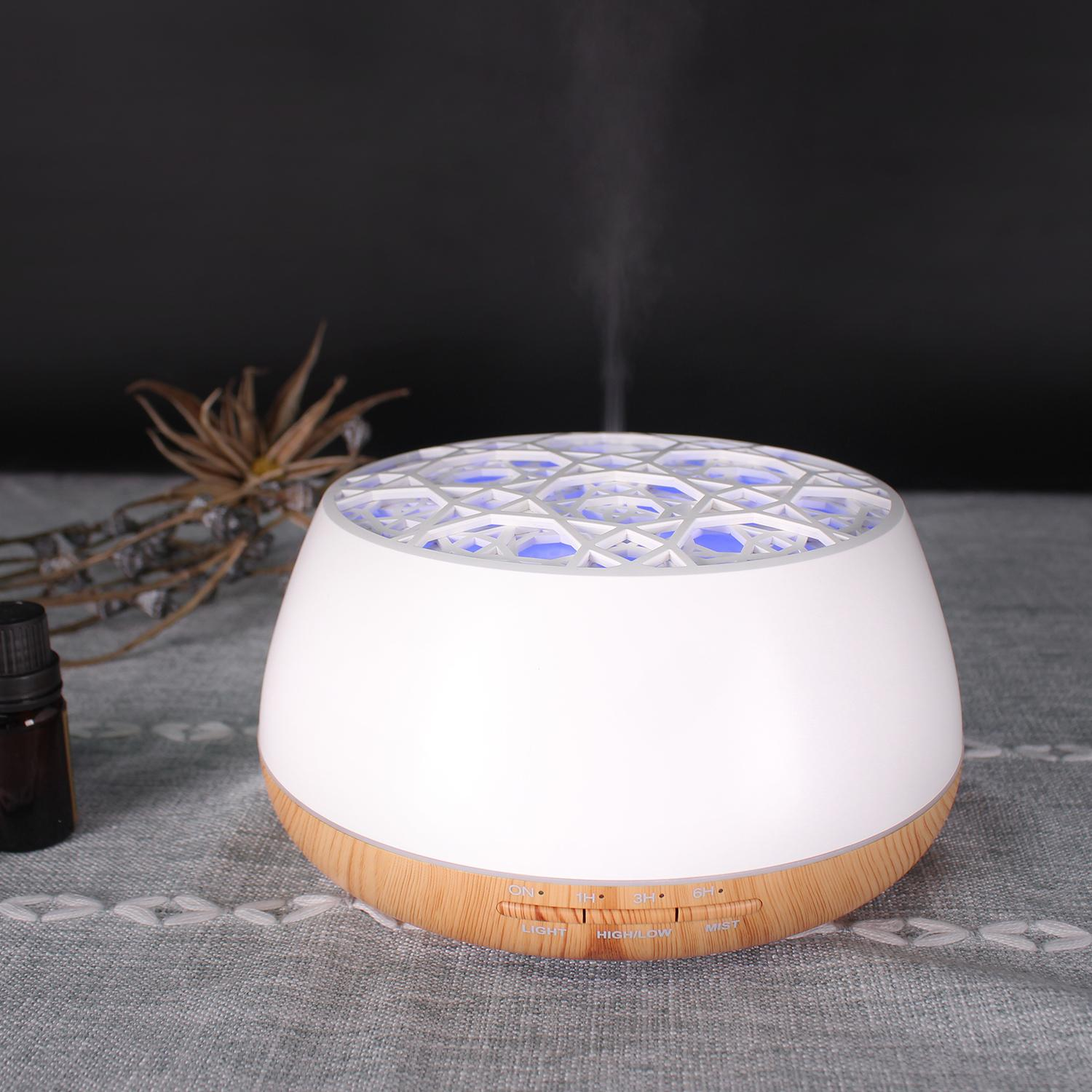 Popular aromatherapy air ultrasonic essential oil aroma diffuser 6