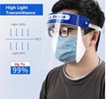 Double face shield Anti Virus Transparent Face+Shield Protection Face Shield