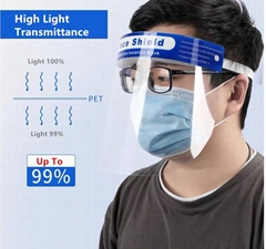 Protect Your Face Eye Mouth Anti Fog Epidemic Prevention Public face shield