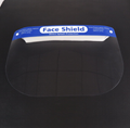 Factory Supply Disposable Clear Plastic transparent protective face shield