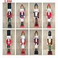 2021 120cm 150cm wooden 6 foot nutcracker for sale 2
