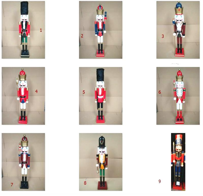 2021 120cm 150cm wooden 6 foot nutcracker for sale 3