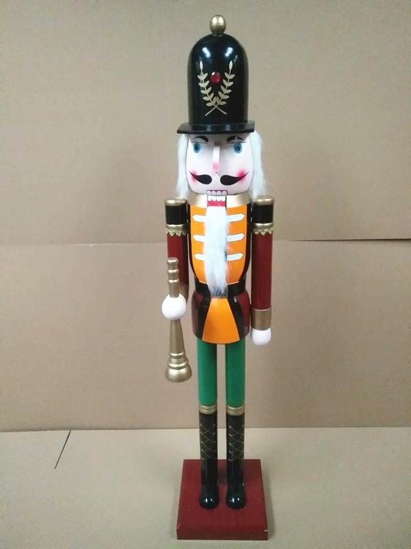 2021 120cm 150cm wooden 6 foot nutcracker for sale 5