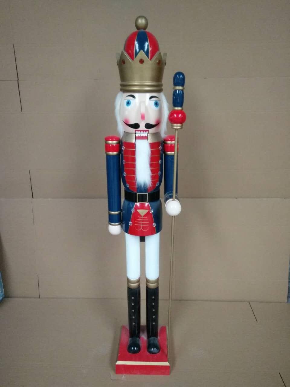 2021 120cm 150cm wooden 6 foot nutcracker for sale 7
