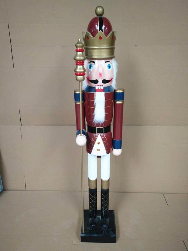 2021 120cm 150cm wooden 6 foot nutcracker for sale 10