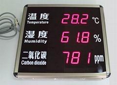 鐳彩 溫濕度二氧化碳顯示屏