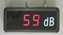 鐳彩 噪音顯示屏