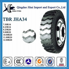 China wholesale heavy duty radial truck tyre ,used tire 11R22.5