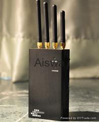 3G/4G/GSM Cellphone Signal Jammer CTS-A4C