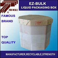 青岛厂家 液体包装箱 IBC纸箱 液体八角箱 塑料颗粒包装箱