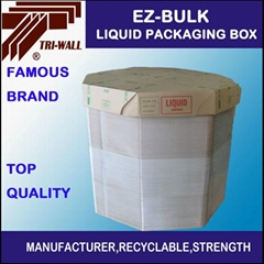 青島廠家 液體包裝箱 IBC紙箱 液體八角箱 塑料顆粒包裝箱