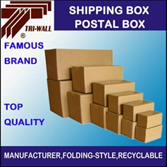 Courier express Corrugated  carton Box