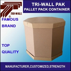 IBC container    octangular carton box