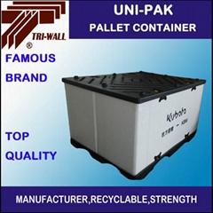 PP塑料 中空板UNI-PAK 塑料週轉箱